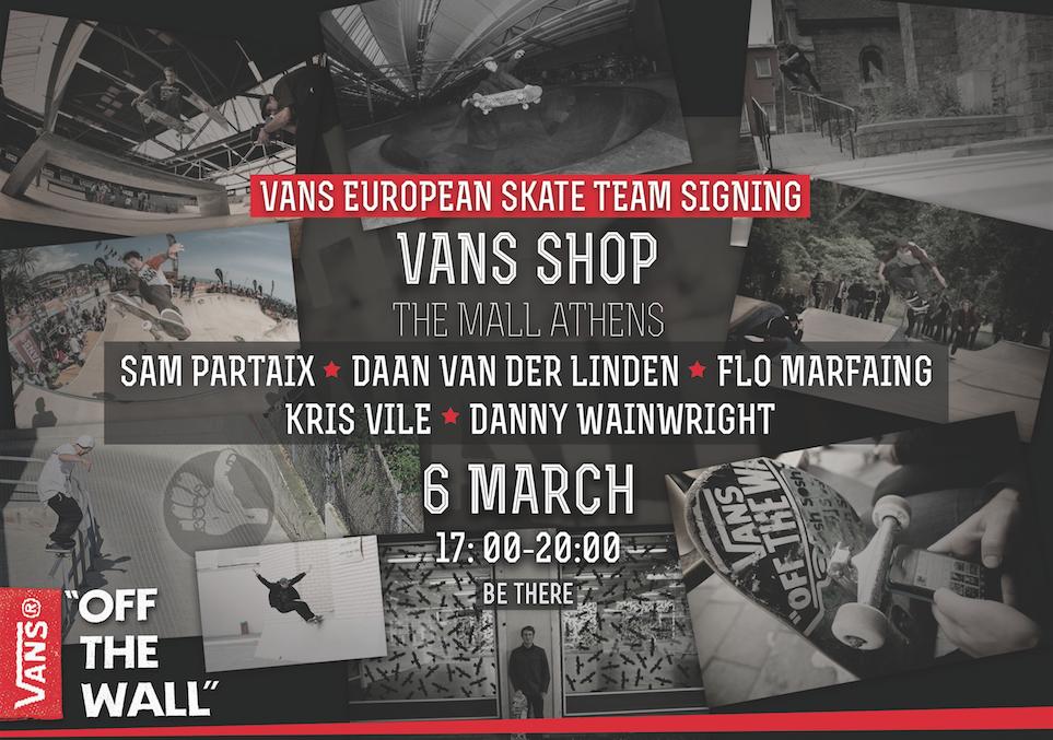 Vans European Skate Team In Athens   Skateism